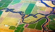 James BO  Insogna - Planet Art Colorful  Midwest Aerial