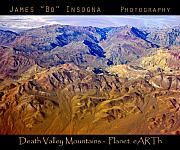 James BO  Insogna - Planet Art Death Valley Mountain Aerial