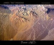 Southwest Art - Planet Art Number Three by James Bo Insogna