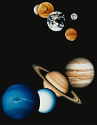 Neptune Posters - Planet Composition Poster by Stocktrek