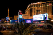 Night Photos - Planet Hollywood Hotel by Andy Smy