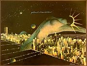 Model - Planet Manhattan by Gary Kaemmer
