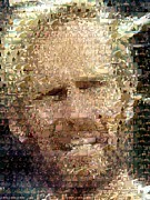 Montage Mixed Media - Planet Of The Apes mosaic by Paul Van Scott