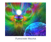 Seraphim Angel Digital Art Posters - Planetary Helper Poster by Jeff Haworth