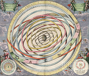 Harmonia Macrocosmica Posters - Planetary Orbits, Harmonia Poster by Science Source