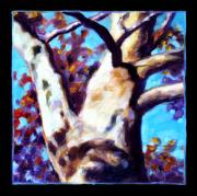 Tree. Sycamore Paintings - Planets Image Eight by John Lautermilch