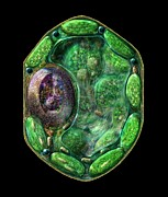 Plasma Prints - Plant Cell Print by Russell Kightley