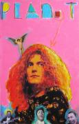 Led Zeppelin Mixed Media Prints - Plant Print by Mike  Mitch