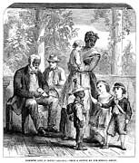 Plantation Life, 1863 Print by Granger