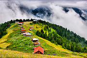 Chalet Framed Prints - Plateau Framed Print by Okan YILMAZ