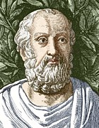 Plato, Ancient Greek Philosopher Print by Sheila Terry