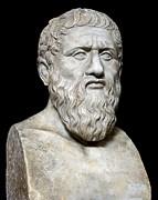 Plato Print by Sheila Terry