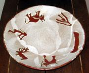Native American Ceramics - Platter by Tamara Lauder