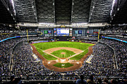 Milwaukee Brewers Prints - Play Ball 2012 Print by CJ Schmit