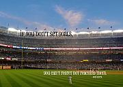 Yogi Berra Prints - PLAY BALL quote Print by JAMART Photography