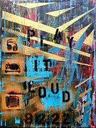 Nike Mixed Media - Play It Loud by Jon Nelson