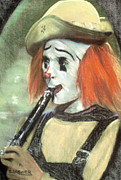 Circus. Paintings - Play Me a Tune by Cyndi Brewer