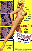 1960s Poster Art Posters - Playgirl After Dark, Aka Too Hot To Poster by Everett