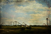 Roller Coasters Framed Prints - Playgrounds of Old Framed Print by Laurie Search