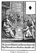 Senate Prints - Playing Card, 1710 Print by Granger