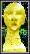 Stones. Sculpture Prints - Playing Loud Music Print by Anand Swaroop Manchiraju