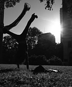 Cool Teenager Prints - Playing with the Sun II - Philadelphia - Pensilvania - Sunset Print by Lee Dos Santos