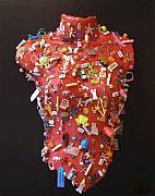 Ceramic Mixed Media - Playmate by Lisa Melita