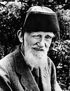 Fez Photos - Playwright George Bernard Shaw, July by Everett