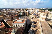 Rooftop Metal Prints - Plaza de la Virgen Metal Print by Fabrizio Troiani
