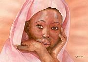 African Child Originals - Pleading by Marsha Elliott