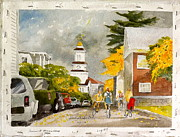 Demo Originals - Pleasant St. Marblehead by Harding Bush
