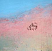 Cage Paintings - Please Describe The Passage by Mike Bullas
