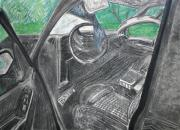 Seat Pastels - Please do not drink and drive and wear a seat belt by Desiree Aguirre