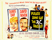 The Bare Back Prints - Please Dont Eat The Daisies, Doris Day Print by Everett