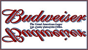 Budweiser Framed Prints - Please Just Call Me Bud Framed Print by DigiArt Diaries by Vicky Browning