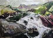 Harry Robertson - Plein air in Snowdonia