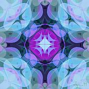 Mandalas Prints - Plenty Print by Angela Treat Lyon