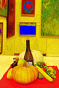 Wine Bottle Wall Art Photos - Plenty With Wine by Bob Whitt