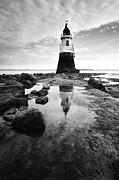 Plover Scar Lighthouse Print by copyright Ian Bramham Photography