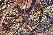 Jeremy Linot Prints - Plow Wheel Print by Jeremy Linot