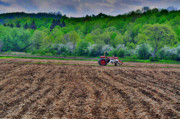 Country Scene Photos - Plowed by Emily Stauring