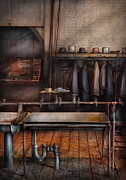 Plumbing Prints - Plumber - At the end of the day Print by Mike Savad