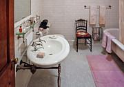 Plumber - The Bathroom  Print by Mike Savad