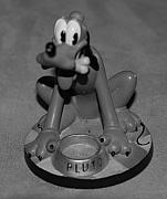 Disney World Digital Art Originals - Pluto by Rob Hans