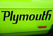 Gtx Posters - Plymouth Road Runner Poster by Paul Ward