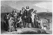 1620 Prints - Plymouth Rock: Landing Print by Granger