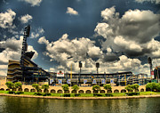 Pnc Park Photo Framed Prints - PNC Park Framed Print by Arthur Herold Jr