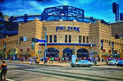 Phillies  Prints - PNC Park Print by Matt Matthews