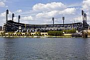 Pnc Park Framed Prints - PNC Park Pittsburgh PA Framed Print by Kristen Massucci