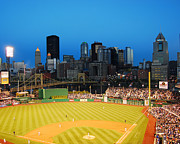 Pittsburgh Pirates Prints - PNC Park Print by Steve Whalen